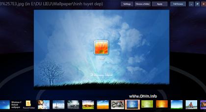 Phần mềm thay đổi hình nền đăng nhập Windows 7