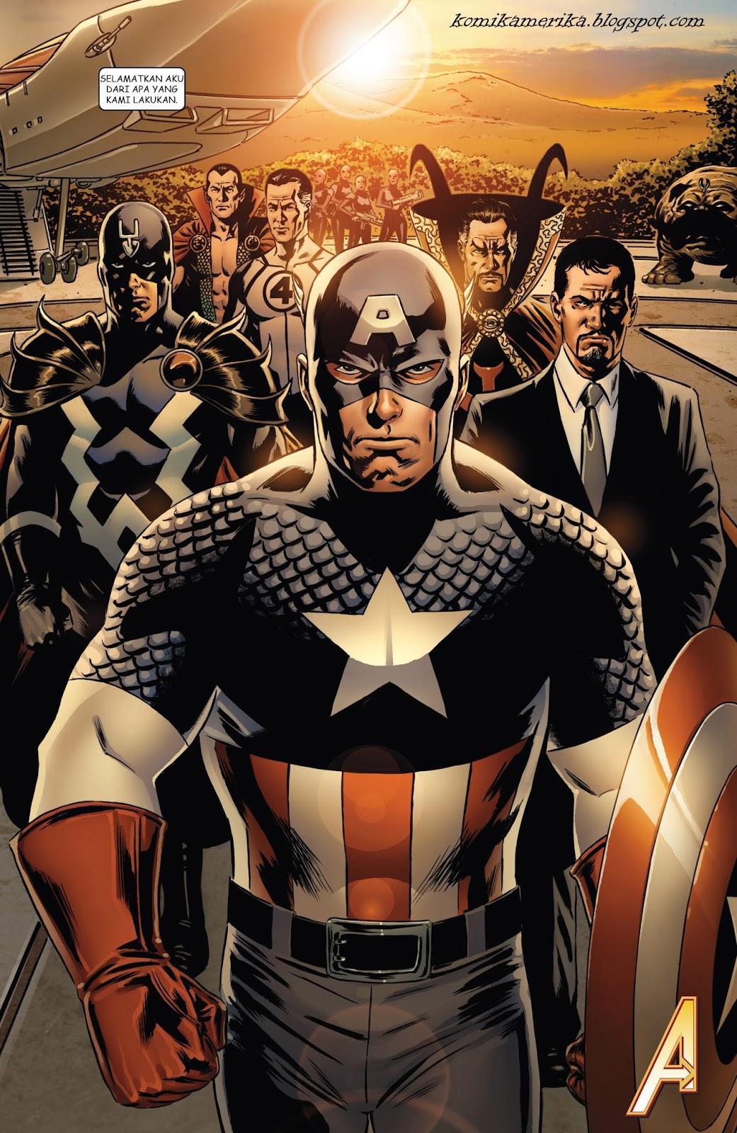 komik amerika bahasa indonesia: new avengers #1