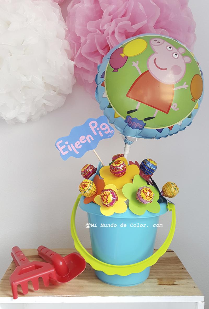 hazlo tu mismo decoracion para fiesta peppa pig