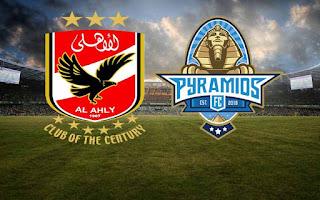 ماتش الأهلي ضد بيراميدز مباشر 11-10-2020 والقنوات الناقلة ضمن الدوري المصري
