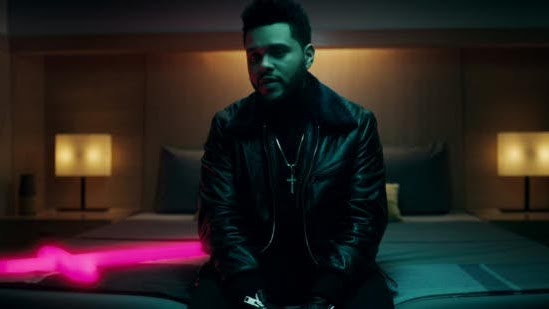 The Weeknd - Starboy (feat. Daft Punk) - Music Video Cover