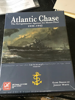 Now this is an interesting game: Atlantic Chase - GMT Games