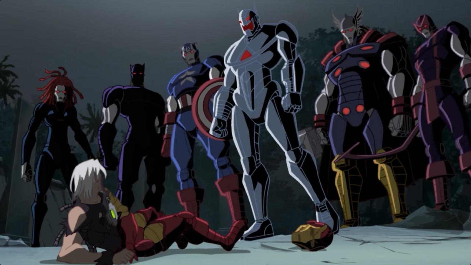 Things I Have Watched Next Avengers Heroes Of Tomorrow 2008 Direct To Video Animated Movie