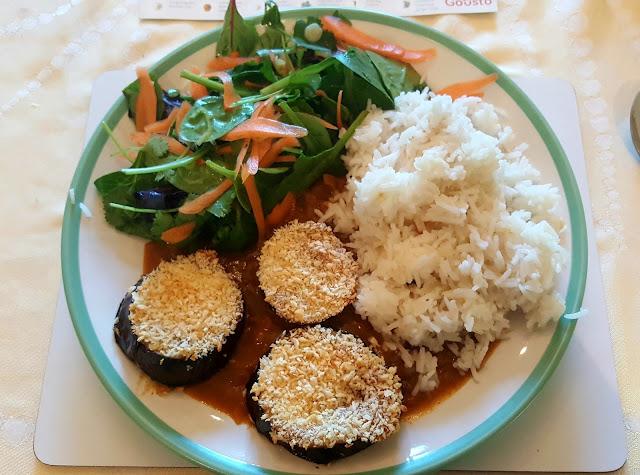 Japanese Aubergine Katsu Curry