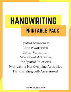 Handwriting Skills Printable Pack