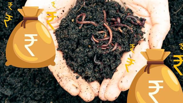 Vermicomposting Organic Farming Manure Worms For Revenue Generation