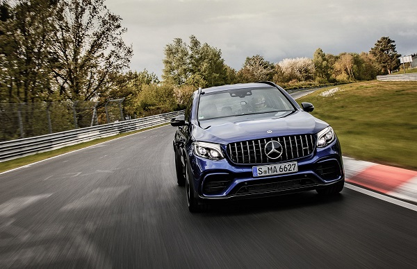 Mercedes-AMG GLC 63 S 4Matic+ récord Infierno Verde