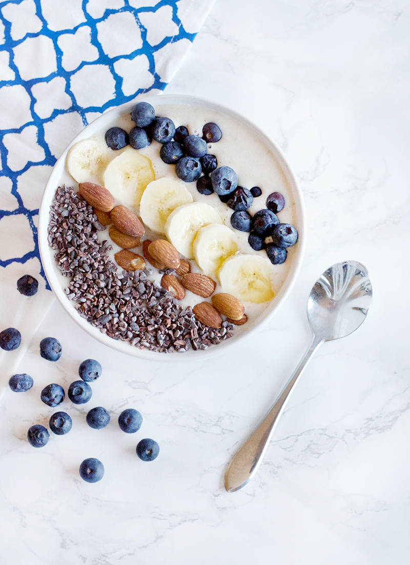 Almond Banana Smoothie Bowl | Obsessive Cooking Disorder