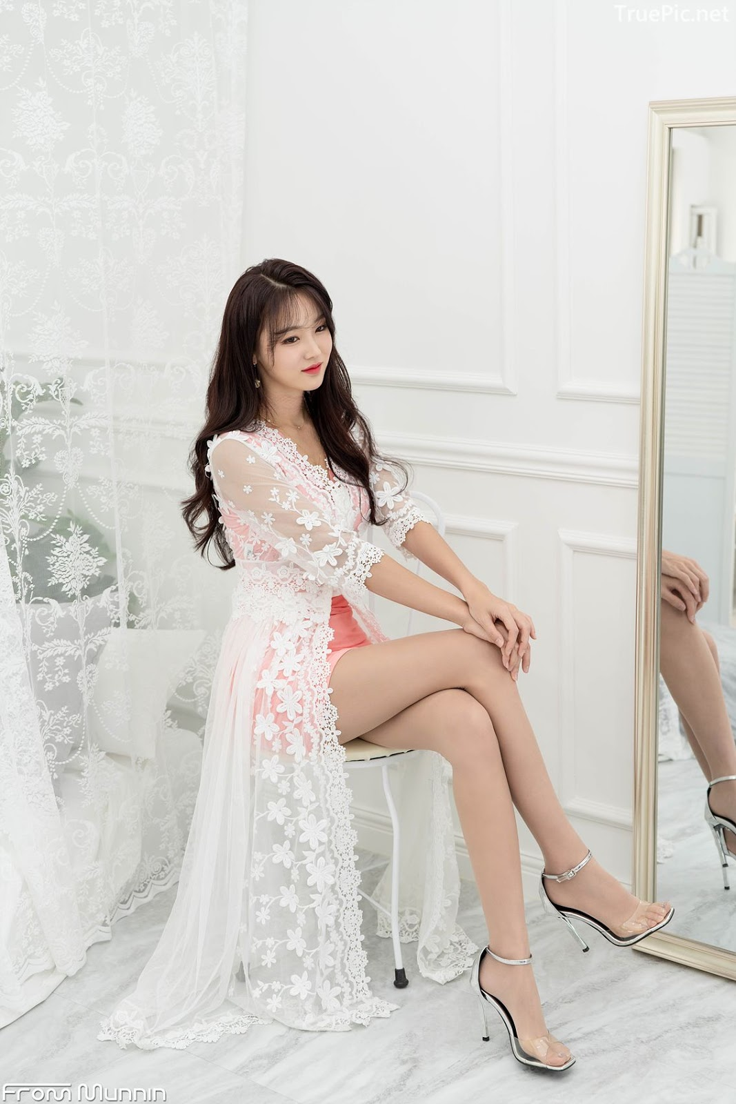 Korean hot model and fashion - Jin Yu Ri - Indoor Photoshoot Collection - Picture 4