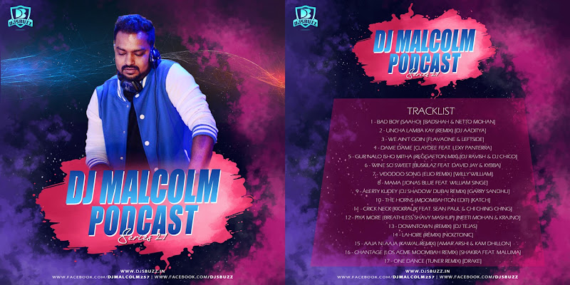DJ Malcolm Podcast – Series 21