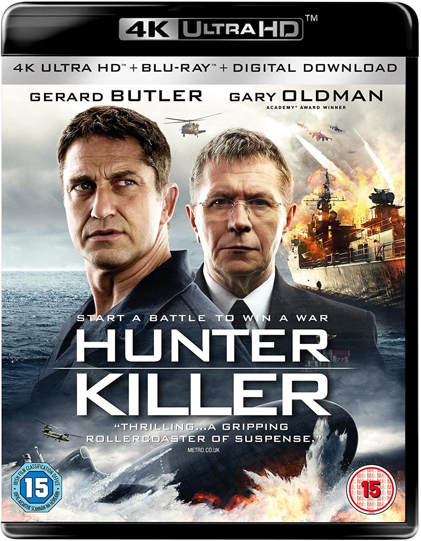 Hunter Killer 2018 Hindi Dual Audio 720p BluRay 1GB ESub x264