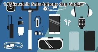 Aksesoris Smartphone dan Gadget merupakan salah satu rekomendasi kado natal spesial untuk sahabat tercinta