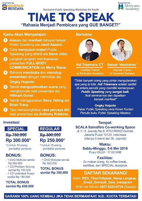 Workshop-Public-Speaking-di-Jakarta