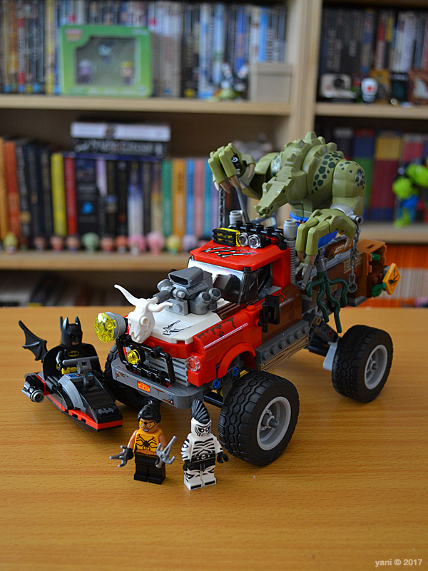 yaniism: lego: the lego batman movie - killer croc tail-gator