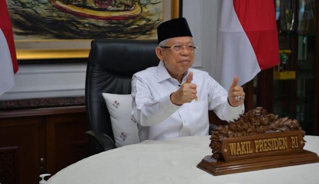 Maruf Amin soal Larangan Seragam Keagamaan Diwajibkan: Ini Kedewasaan dalam Beragama