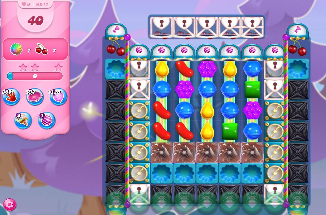 Candy Crush Saga level 9241