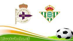 Deportivo vs Betis
