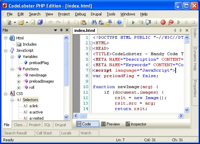Codelobster PHP Edition – Best IDE for PHP Development