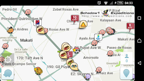 Waze on Android - Schadow1 Expeditions