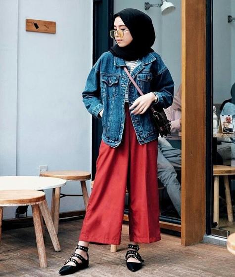 model baju kerja hijab modis