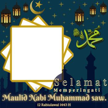 60 Link Twibbon Bingkai Foto Maulid Nabi Muhammad SAW 12 Rabiul Awal 1443 2021 Gratis