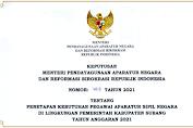 Rincian Formasi Kebutuhan Calon ASN Pemerintah Kabupaten Subang 2021