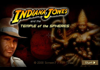 Videojuego Indiana Jones and the Temple of Spheres
