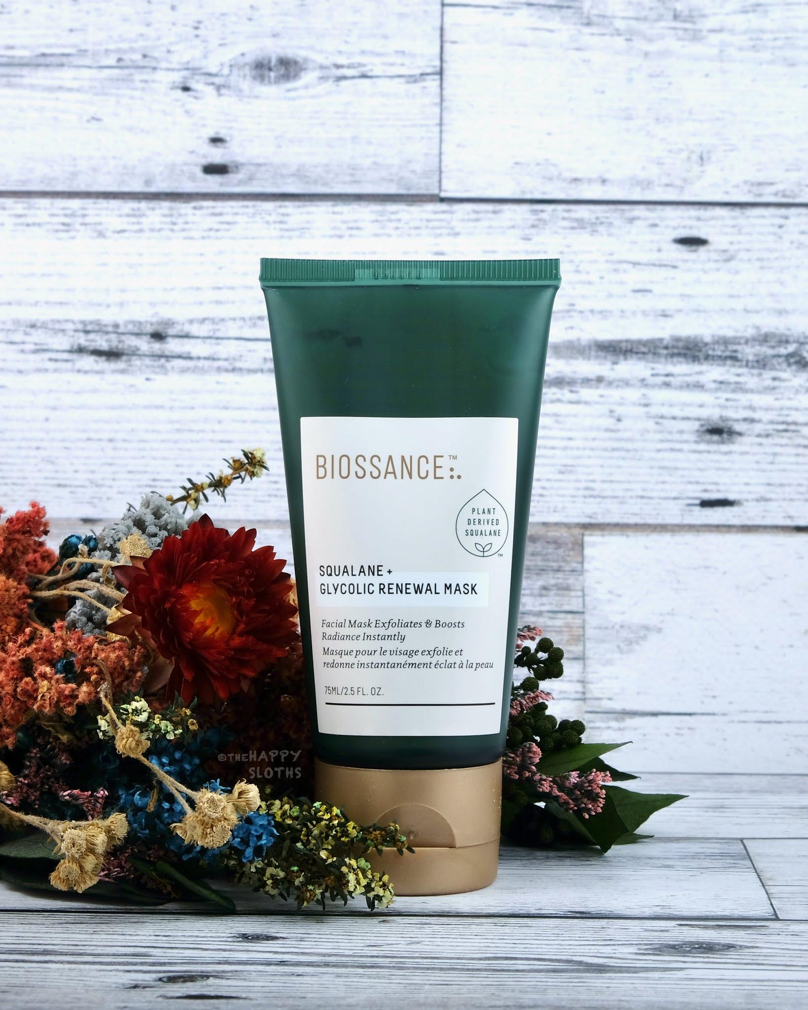 Biossance | Squalane + Glycolic Renewal Mask: Review