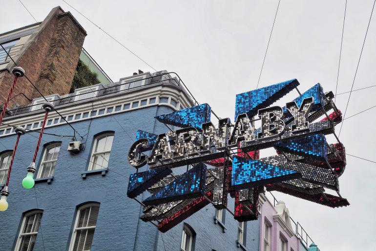 Quartier de Carnaby Street à Londres