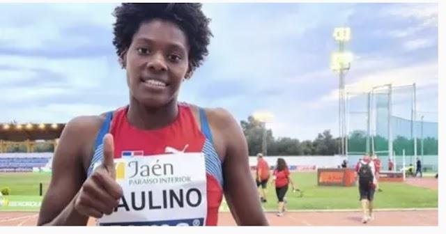 Marileidy Paulino se clasifica a las semifinales de atletismo en 400 metros planos.