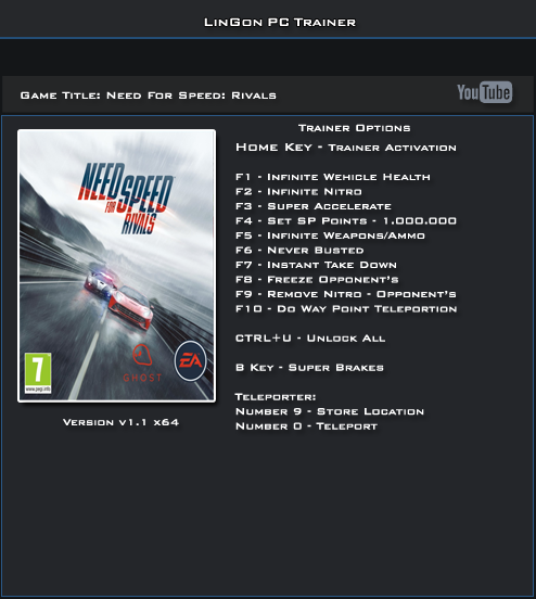 nfs most wanted trainer black edition