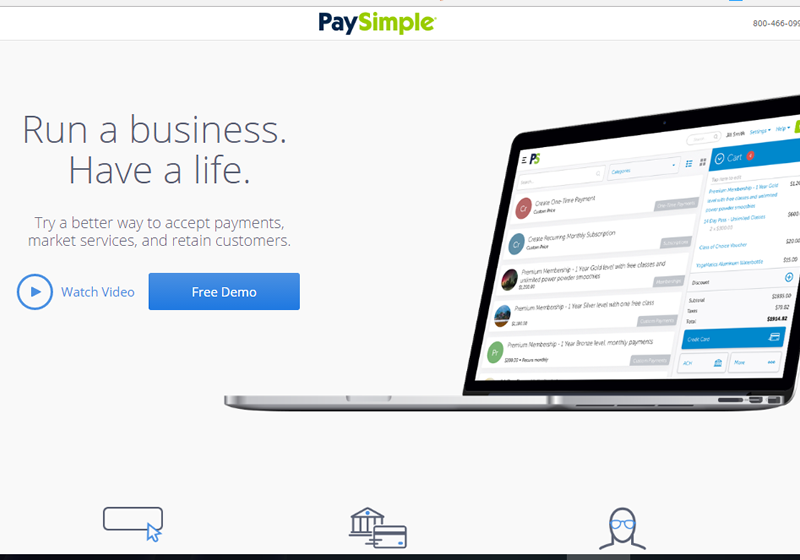 PaySimple lets you set up recurring billing and payments easily