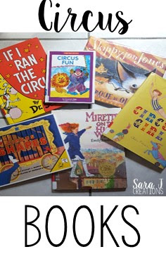 Picture book ideas for learning about the circus