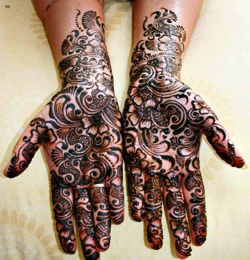 6536a5e6f6 One of the best in top 10 Mehndi Design