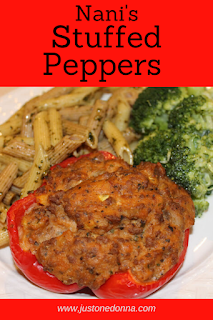 Nani's Authentic Italian Stuffed Peppers