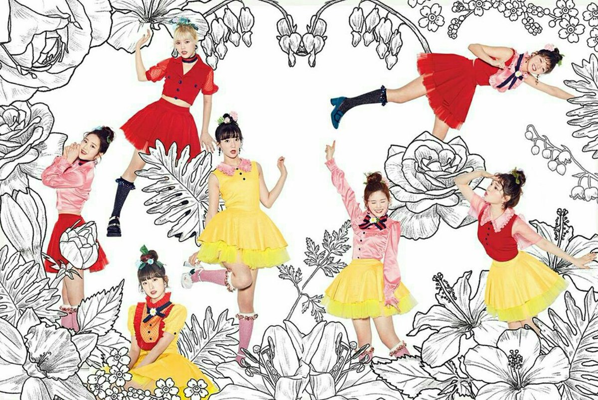 Oh My Girl Reveal New Teaser Image For Coloring Book