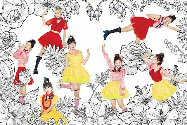oh my girl reveal new teaser image for   39 coloring book  39  daily k pop news OH My Girl Coloring Book Live Outfit  Coloring Book Oh My Girl Mp3