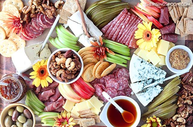 Fall Charcuterie Board (Meat & Cheese Platter)
