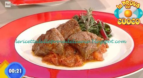 Bocconcini di scottona con chutney di pomodoro ricetta Latagliata da Prova del Cuoco