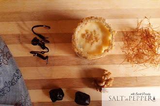 Iftar Recipes: Dates and Walnuts Custard.