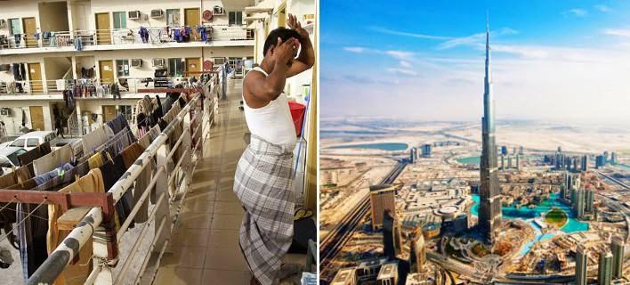 Η άλλη όψη του Ντουμπάι δεν είναι καθόλου φανταχτερή -Στα άδυτα του στρατοπέδου συγκέντρωσης των εργατών που χτίζουν τους ουρανοξύστες [εικόνες]