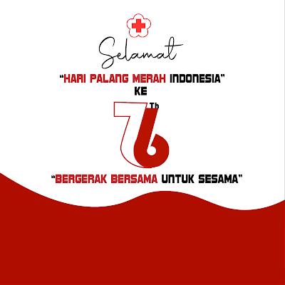 poster hari palang merah indonesia ke 76 2021 - kanalmu