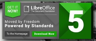LibreOffice 5.0 logo