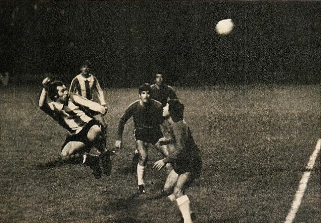 Argentina y Chile en Copa Carlos Dittborn 1971, partido de vuelta