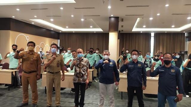 Dispora Gandeng PWI Kota Bandung Gelar Pelatihan Kompetensi Literasi Digital Bagi Pemuda