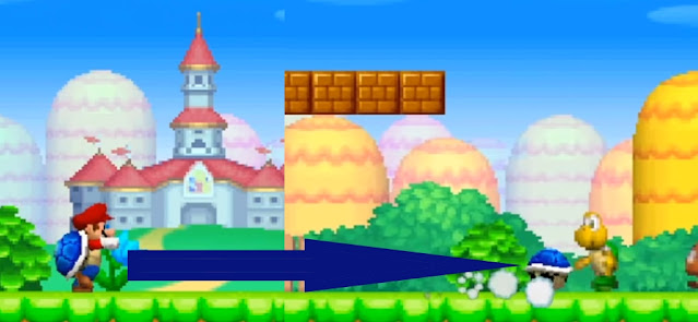 New Super Mario Bros. DS Blue Shell power up