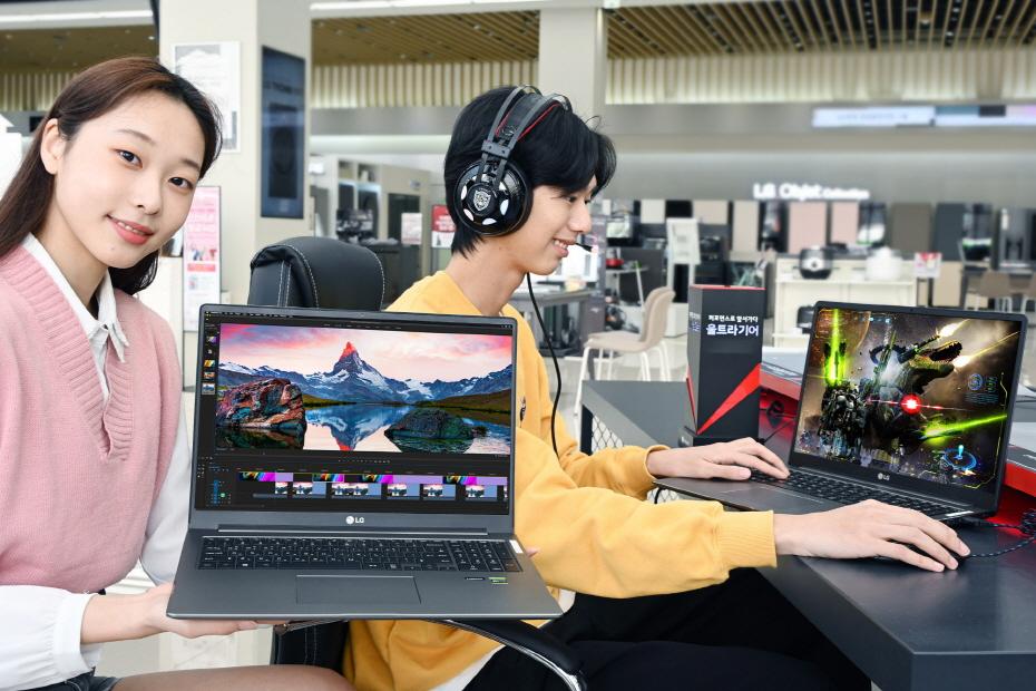 영상작업·게임 등에 최적 고성능 노트북 'LG 울트라기어 17' 출시