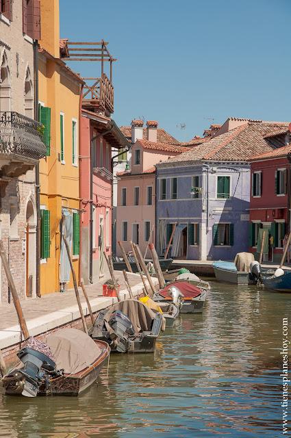 Burano viaje Italia Venecia turismo