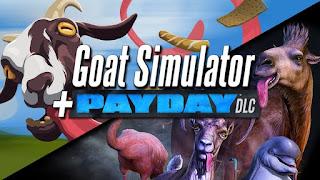 لعبة محاكاة الماعز Goat Simulator Payday مدفوعة للاندرويد (بدون ملف obb)