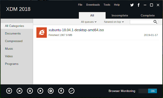 Xtreme Download Manager, Alternatif IDM untuk Download File di Linux